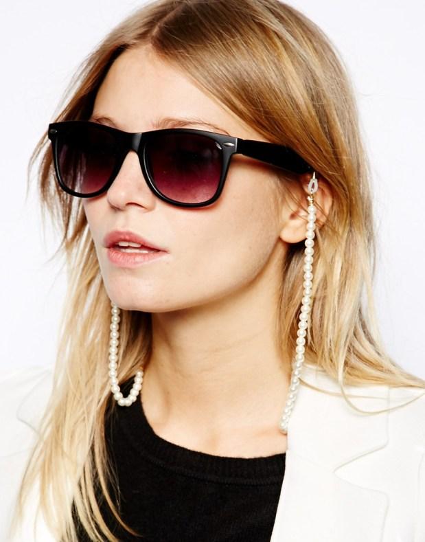 asos chainnette lunette