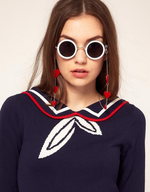 chainette lunette asos