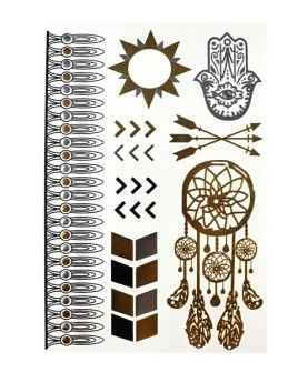 tatouage-ephemere-dreamcatcher-et-hamsa-dore-argente-480x600