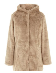 Manteau fausse fourrure - Newlook - 50,00€