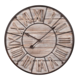 Horloge en bois D 60 cm TOSCANA - Maisons du Monde