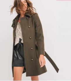 manteau-army-femme_promod_79,95 euros