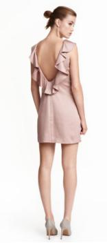 Robe Volants en Satin - H&M - 19,99€